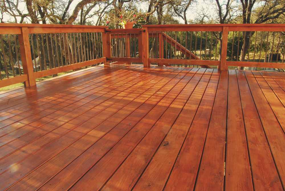 Painting Company Sandy Springs GA- deck