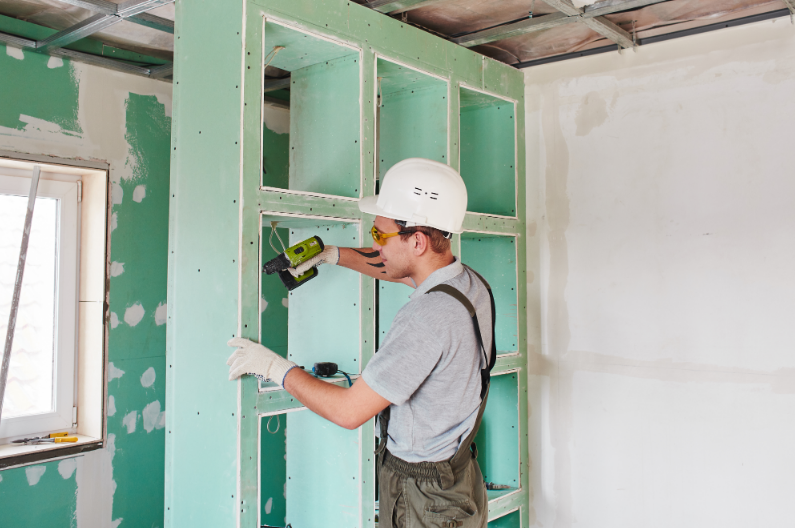 Commercial Painting Sandy Springs & Atlanta -Dry wall 2