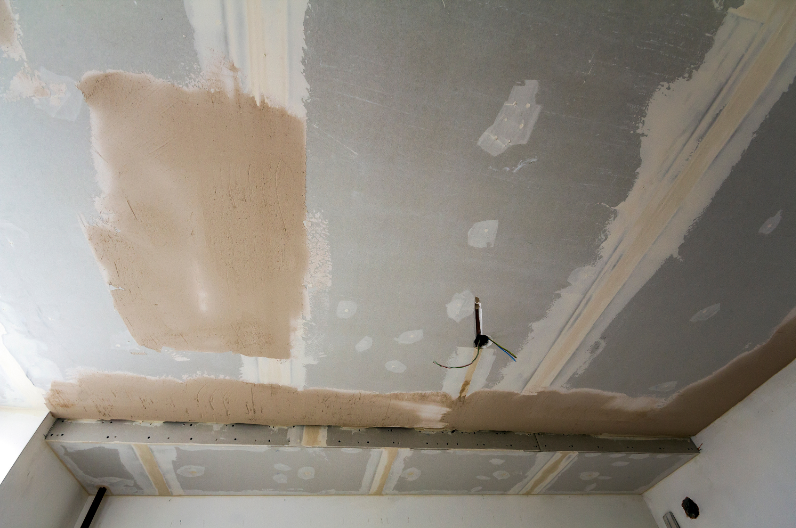 Commercial Painting Sandy Springs & Atlanta - Dry wall fire damage