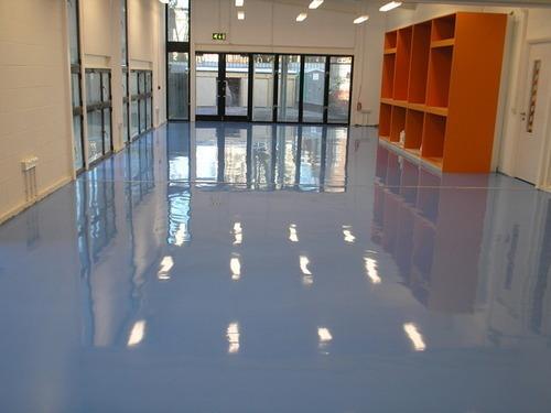 Commerical Painters Sandy Springs & Atlanta GA -epoxy flooring 1